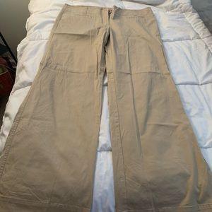 NY&Company size 14 wide leg chino pants NWT